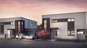 Superbes maisons accolées par le garage à Bascharage